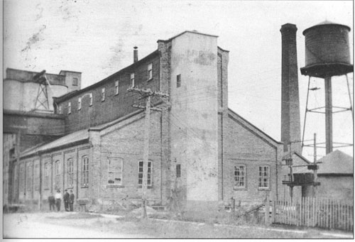 Dominion Linseed Oil Company, Baden, early 20th century