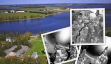 Historical aerial photos and landscapes, Prince Edward Island